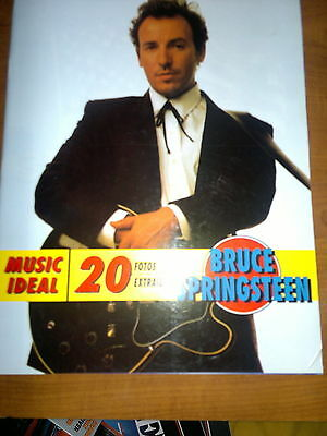 BRUCE SPRINGSTEEN 1971 - 1991_book Spanish_Very Rare