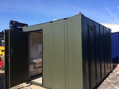 13x9ft 2+1 Anti Vandal Site Toilet / Toilet Block / Portable Building / 2600+Vat