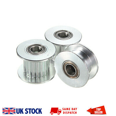 GT2 Smooth Toothed Idler Pulley 16-40, 5-8mm Bore, 6-9mm wide belt