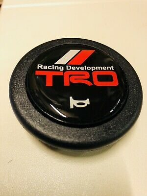 New 55 mm Steering Wheel Horn Button Universal Race Rally Drift ABS TRD
