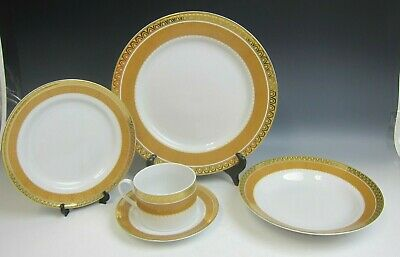 Gibson China GRAND IMPERIAL 5 Piece Place Setting EXCELLENT
