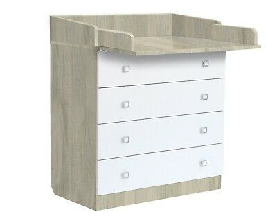 CHEST of DRAWERS DRESSER Polini Kids Simple 1580 w/ changing table FREE Delivery