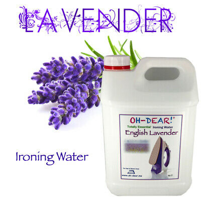 Ironing Water 5L with Natural English Lavender Infusion