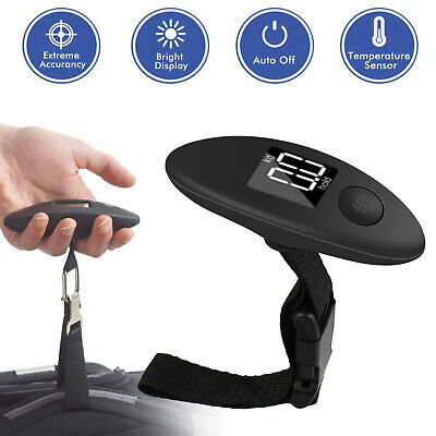 Handheld Portable Electronic Hanging Digital Luggage Travel Weight Scale 90lb