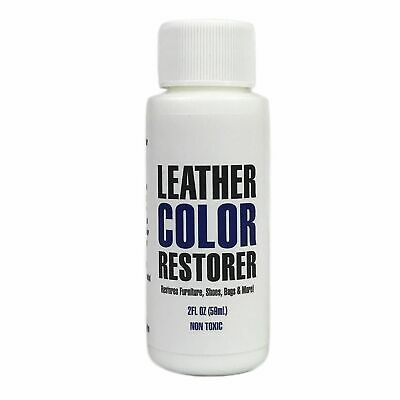 Leather Color Restorer & Refinish Repair Touch Up Leather Dye Leather Hero 2oz