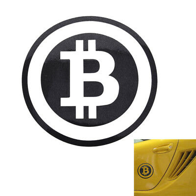 Large Bitcoin Cryptocurrency Blockchain Freedom Stickers Vinyl Car Window Decal@