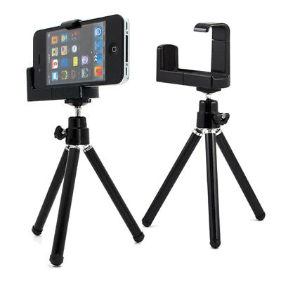 360° Mini Tripod Stand Holder Mount For Camera Mobile Phone Iphone Samsung JD