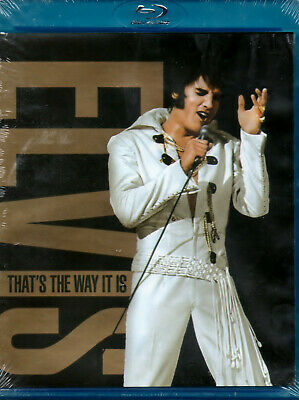 Elvis Presley That's The Way It Is Blu-ray Concert Brand New Free Shipping