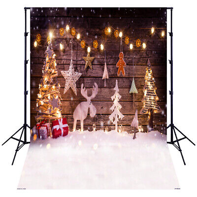 Andoer 1.5*2 meters / 5*7 feet Christmas Holiday Theme Background Photo D8T2