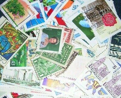 Canada  Postage stamps mix of over 200  in gr cond