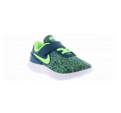 cf108a23f6863 NEW Nike Flex Contact Size 5 C Toddler Boys Shoes Blue Force Lime Blast