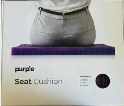 Purple The Seat Cushion - Car Office Chair Lumbar Support Comfort