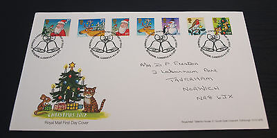 6th Nov 2012 Christmas Illustrations by Axel scheffler First Day Cover SHS(B89)