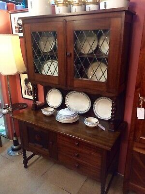 Arts & Craft Oak Kitchen Cupboard - Excellent Condition - Beautiful
