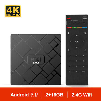 HK1 MINI Android 9.0 Smart TV BOX RK3229 Cuatro Nucleos 4K Wifi TV CAJA HK1MINI
