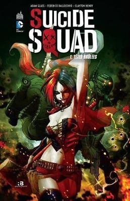 Suicide Squad Tome 1 - URBAN COMICS -  Glass / Dallocchio /Hen