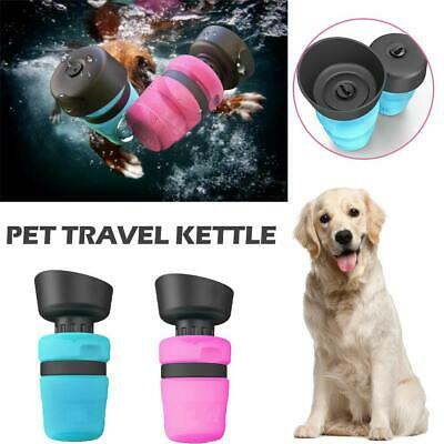Portable Pet Water Bottle Drinking Mug Cup Puppy Dog Cat Travel Outdoor Kettle