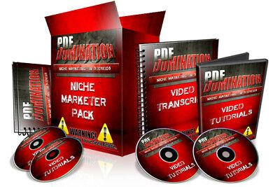 PDF Domination Video Course-Create A Product People Want and make money