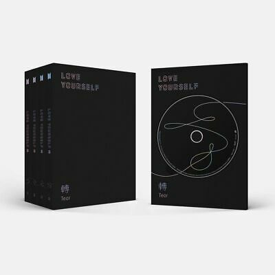 BTS Bangtan Boys Love Yourself 轉 'Tear' CD++Photobook+Photocard