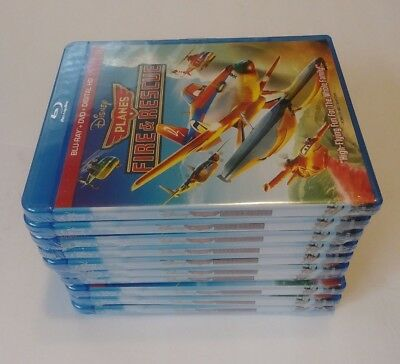 LOT OF 10 Disney PLANES Fire and Rescue BLU-RAY + DVD + DIGITAL HD  NEW SEALED