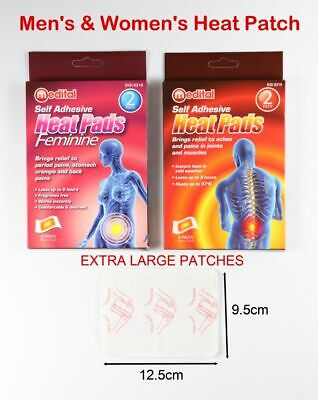 Instant Heat Pack Self Adhesive Heat Patches Heat Pads Instant Heat Packs 8 Hour