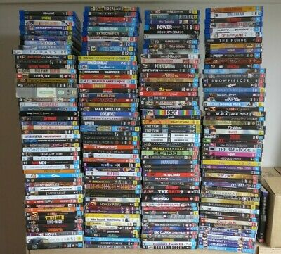 MAY SALE! *205* Movies & TV shows on DVD/Blu-ray, all VGC - Dropdown menu