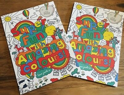 Little Bird Jools Oliver Colouring Books Pack Of Two New