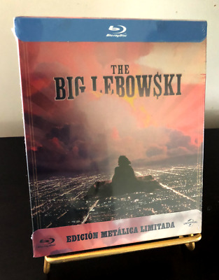 [BLU RAY] STEELBOOK THE BIG LEBOWSKI. Edition espagnole. version française. NEUF