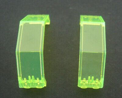 Lot of 2 Vintage LEGO Part Number 2466 Neon- Green Window Panels 3x2x6