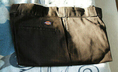 DICKIES ORIGINAL 874 Work Pant Chino Hose Herren O Dog braun