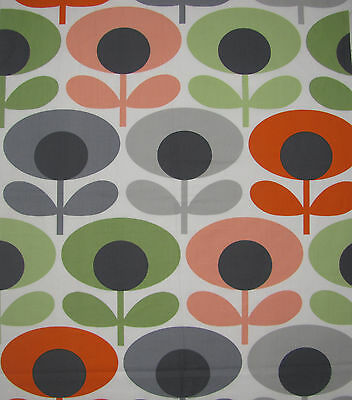Orla Kiely Fabric Oval Flower Tomato ALL Sizes 100cm 50cm 25cm FQ square 1M New