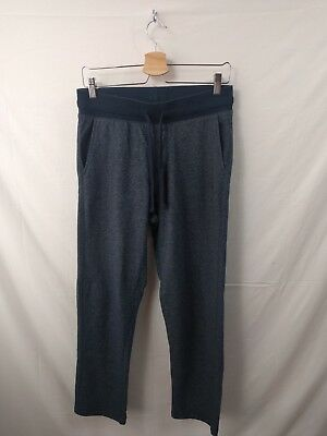 Mens M&S Collection Navy Blue Joggers Tracksuit Bottoms Size W31 L28.5 #4A3