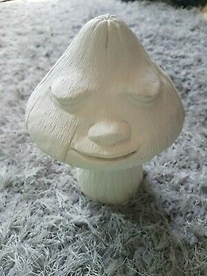 #2 Mushroom toad stall face ornament statue figurine rubber latex mould mold New