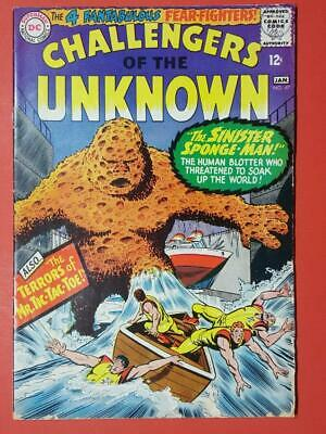 Challengers Of The Unknown #47 DC Comics Cents Issue