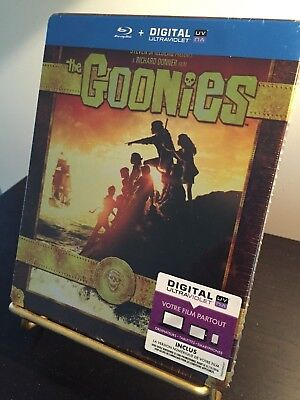 [BLU RAY]  STEELBOOK LES GOONIES edition française NEUF sous blister.