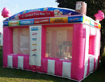 Commercial Inflatable Food Drink Concession Stand Tent Booth 10'x8'x13' NEW
