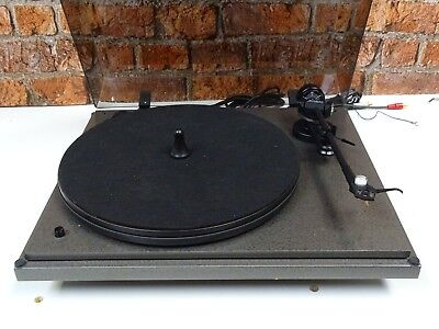 Revolver Vintage Turntable Record Player Deck + Linn Basik Plus Tonearm