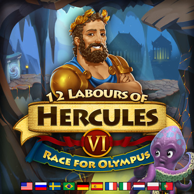 12 Labours of Hercules VI Race for Olympus - Steam Key - Win Mac Linux -