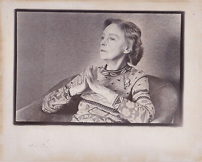 LILLIAN GISH * ACTRESS ** RARE VINTAGE Iconic 1974 HOLLYWOOD Classic press photo