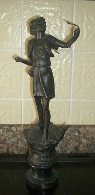 Spelter figurine depicting Bowman