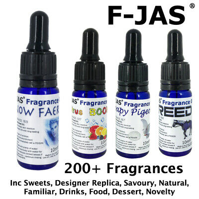Fragrance Oil 10ml Dropper Concentrated for Wax Melts, Candles, Cosmetics