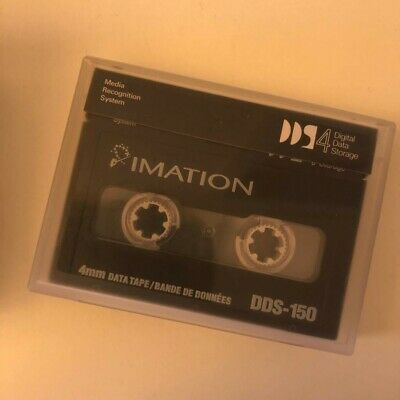 IMATION 4mm DDS-150 Data Tape Black Watch 40/20GB DDS4 NEW SEALED 10 tapes/box