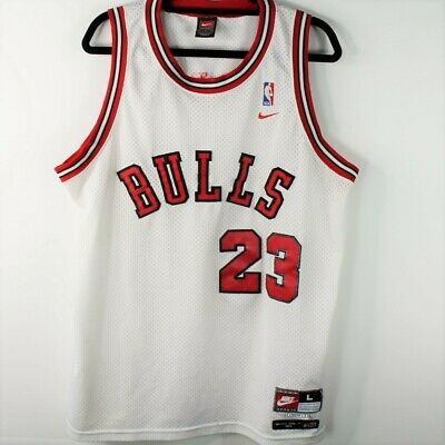 the best attitude 4b6b1 ca059 CHICAGO BULLS MICHAEL Jordan 23 Nike Authentic 1984 ...