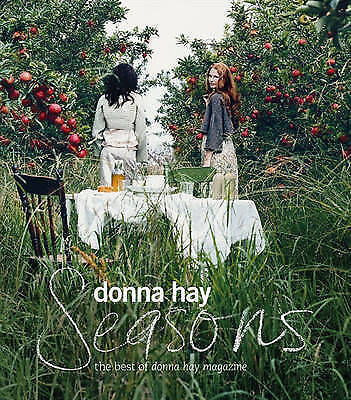 Seasons by Donna Hay The Best of Donna Hay Magazine Large Cookbook - Like New