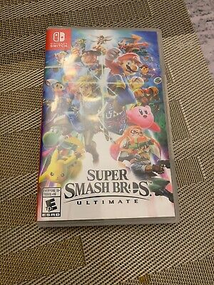 Super Smash Bros. Ultimate for Nintendo Switch, Brand New/Sealed, Free Shipping!