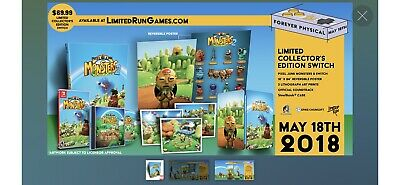 PIXELJUNK MONSTERS 2 COLLECTORS EDITION Limited Run Games Nintendo Switch