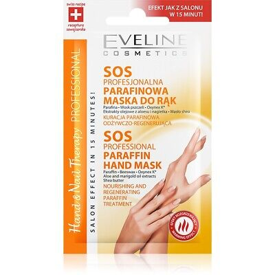 Eveline Body Therapy Professional Sos Professional Paraffin Hand Mask 7ml