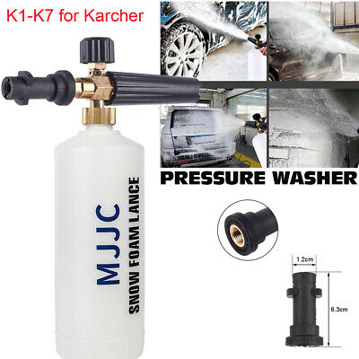 MJJC Snow Foam Lance K1-K7 Car Pressure Washers Sprayer Cannon Soap Bottles Gun