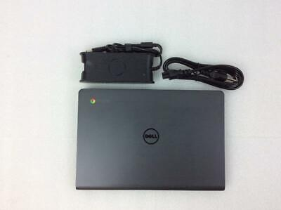 "Dell Chromebook 11 CB1C13 11.6"" Laptop Intel Celeron 2955U 1.40GHz 4GB 16GB SSD"