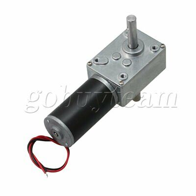 Dual Shaft Worm Gear Reducer Motor 16rpm Speed Variable Miniature